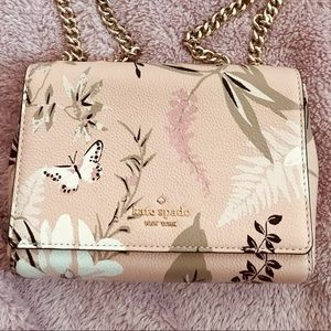 NWT Kate Spade Mini Emelyn Botanical Crossbody